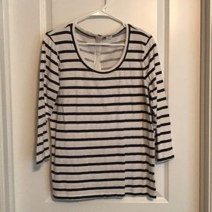 JCrew stripes l/s T-shirt - XL